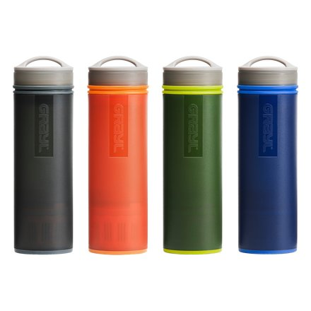Travel/outdoor filters: GRAYL